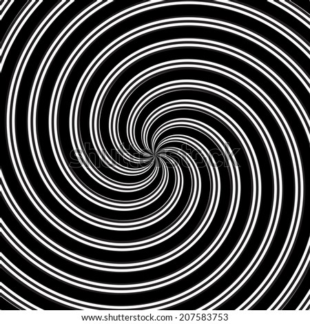 Abstract spiral background. Vector illustration.  - stock vector
