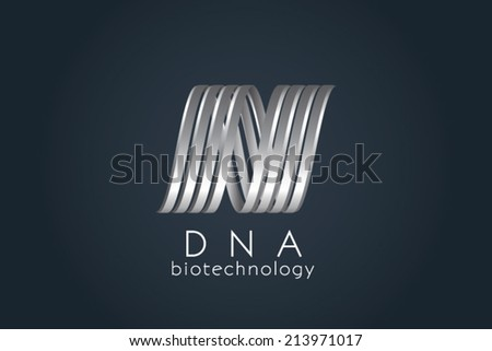 Abstract Spiral business sign template. Modern technology, communication, science concept icon. Business corporate identity element. Vector graphics representing infinity of progress idea. Editable. - stock vector