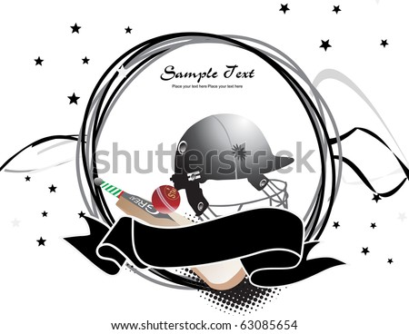 abstract sports background, illustration - stock vector