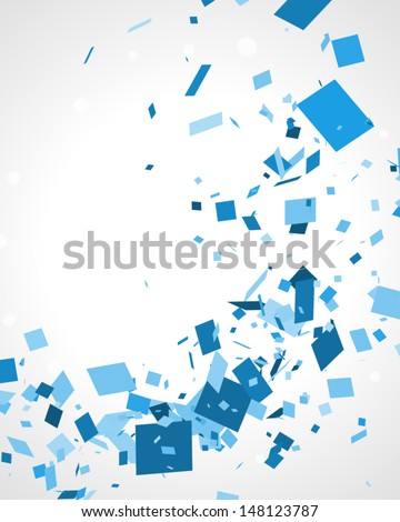 Abstract squares vector background eps 10 - stock vector