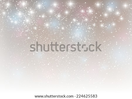 Abstract starry background for Your design - stock vector