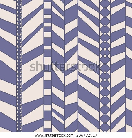 abstract striped seamless pattern - stock vector