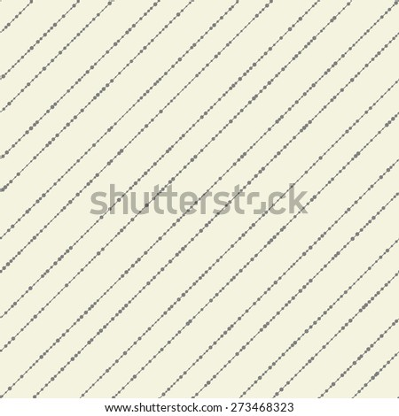 abstract striped spotty seamless pattern - stock vector