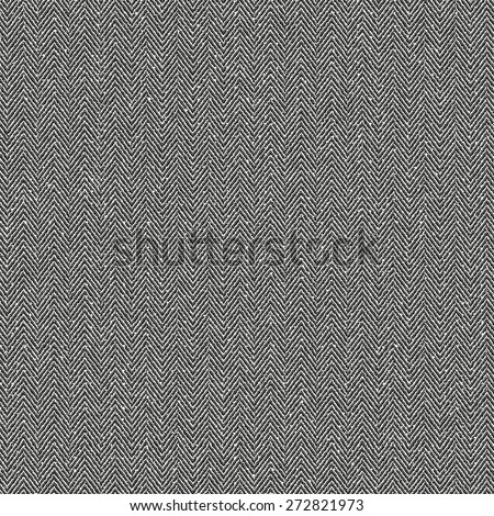 Abstract subtle mottled herringbone fabric textured background. Seamless pattern. Vector. - stock vector