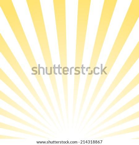 Abstract sun pattern, vector illustration - stock vector