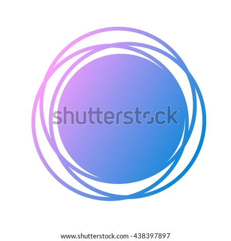 abstract symbol - stock vector
