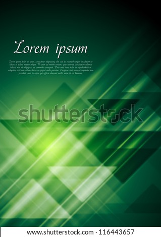 Abstract technology background. Vector template eps 10 - stock vector