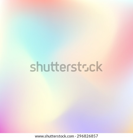 Abstract trend gradient pastel color blur background for design concepts, web, presentations, banners and prints. Vector illustration. - stock vector