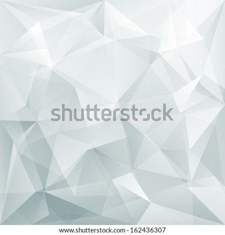abstract triangle background, vector - stock vector