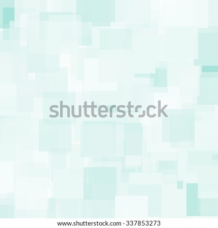 Abstract Triangle Polygonal Geometrical Background, Vector Illustration EPS10. Geometric design frame for business presentations, flyers, banners, brochures leaflets, web. Light Blue teal tile pattern - stock vector