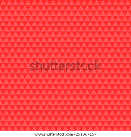 Abstract Triangle Red Tone Background.Vector Illustration - stock vector