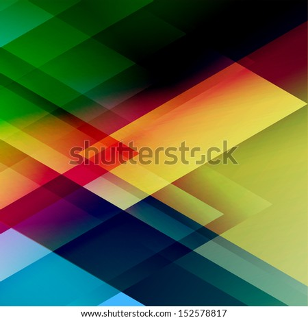 Abstract triangle vector background for Your Text - stock vector