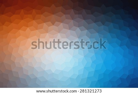 Abstract Two-dimensional  colorful background for web design - stock vector