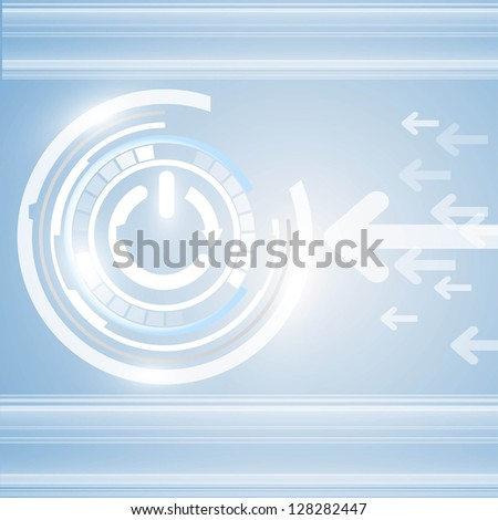 Abstract vector and technology background. eps10 - stock vector