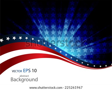 Abstract vector background. Abstract wave - stock vector