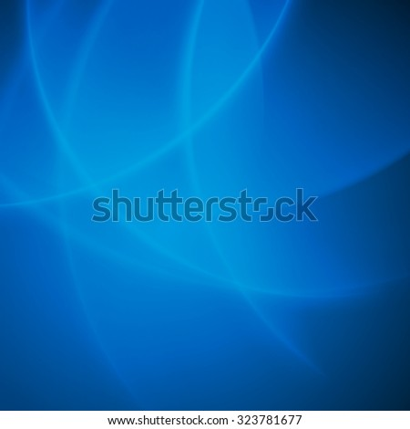 Abstract vector background blue smooth twist light bright wave lines - stock vector