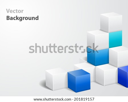 Abstract vector background. File is in eps10. - stock vector