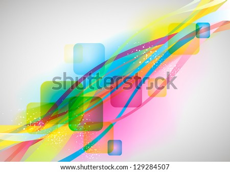 abstract vector background for design - stock vector