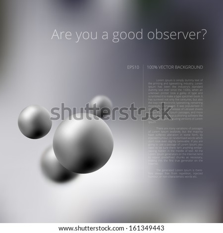 Abstract vector background for your business presentation design - stock vector