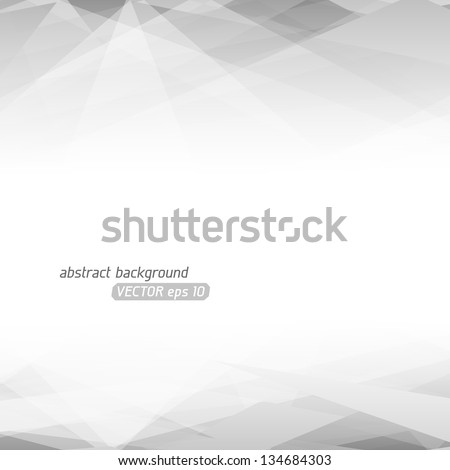 Abstract vector background. Lowpoly vector illustration. Used opacity mask of background - stock vector