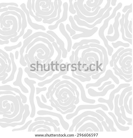 Abstract vector background. Safari collection. Seamless floral pattern. African roses. Zebra print. Light grey. Backgrounds & textures shop. - stock vector