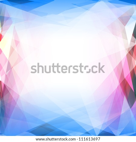 Abstract vector background. Template for style design. EPS 10 vector illustration. Used opacity mask and transparency layers of background - stock vector