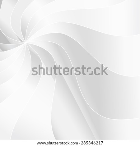 Abstract vector background with smooth white waves.  - stock vector