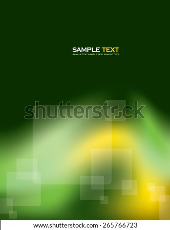 Abstract Vector Background With Transparent Squares. - stock vector
