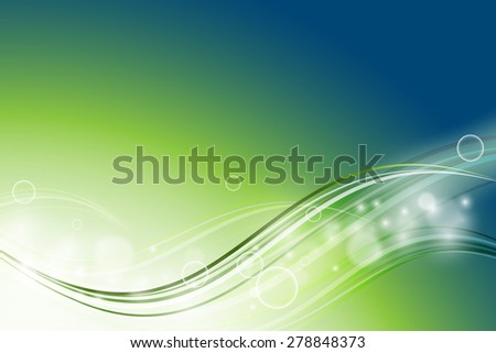 abstract vector background with wavy lines. Eps10 - stock vector