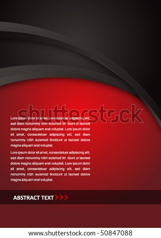 abstract vector business background - stock vector