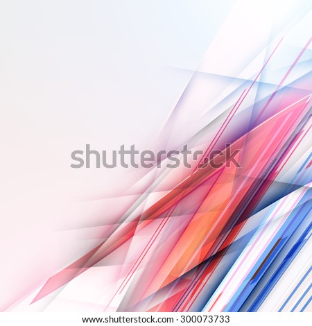 Abstract Vector Colorful Background. Futuristic Technology Design - stock vector
