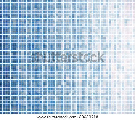 Abstract vector dots background. Tile wall. - stock vector