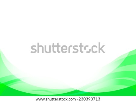 abstract vector green background - stock vector
