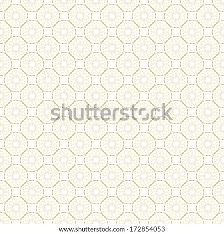 Abstract vector pattern or floor tile  - stock vector