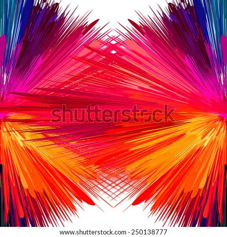 Abstract vibrant background. Vector illustration, EPS10. - stock vector