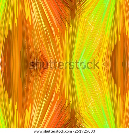 Abstract vibrant ginger reflection background. Vector illustration, EPS10. - stock vector