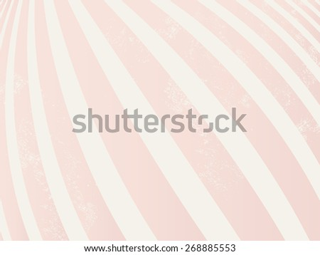 Abstract vintage background - soft pink stripes - stock vector