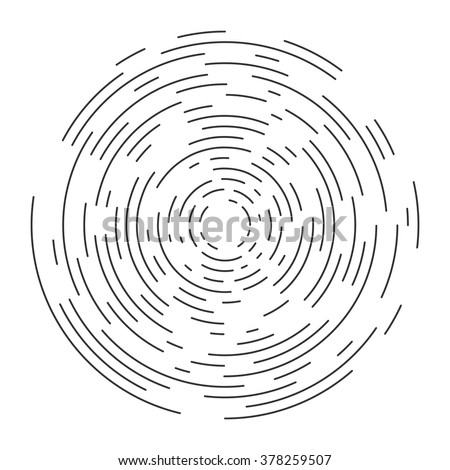 Abstract vortex circular line background. Vector illustration for design your website and print - stock vector