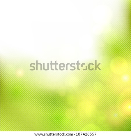 Abstract warm summer background. Vector illustration.   - stock vector