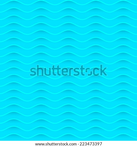 Abstract wave pattern - stock vector