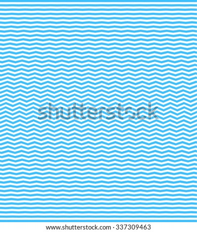 Abstract Waves Pattern. Wavy Lines Background. Vector Illustration. - stock vector