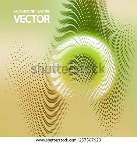 Abstract wavy background eps10, vector elegant wave - stock vector