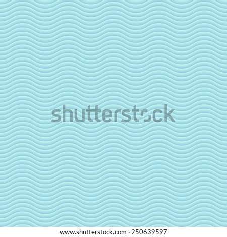 Abstract wavy seamless pattern  - stock vector