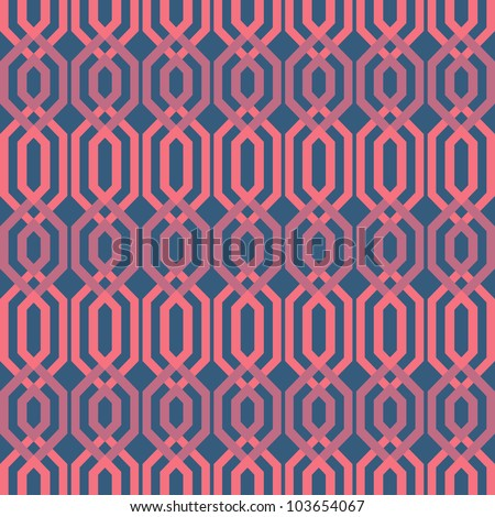 abstract web vector seamless background. Vector illustration - stock vector