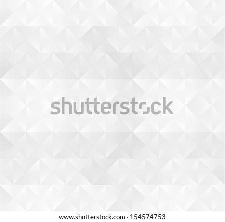 abstract white geometric background, texture - stock vector