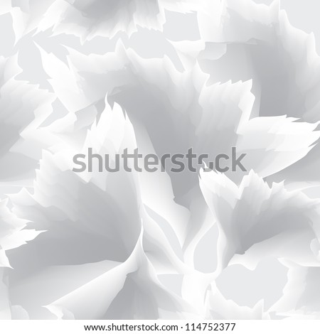 Abstract White Seamless Vector Background Texture - stock vector