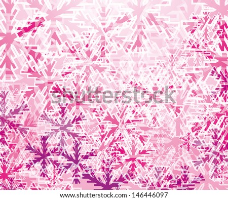 abstract winter background. Eps10 - stock vector