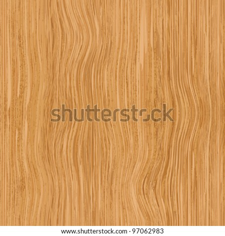 Abstract wooden swirl fiber textured background. Vector. - stock vector