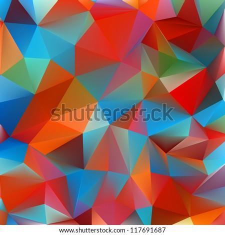 Abstract yellow and blue. EPS 8 vector file included - stock vector