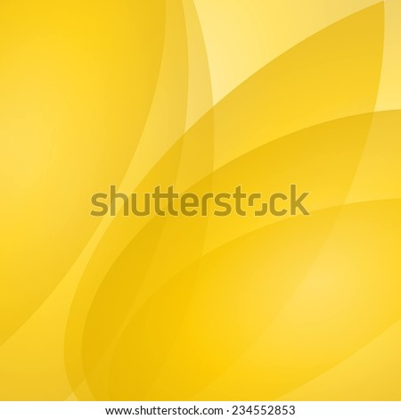 Abstract yellow vector background - stock vector